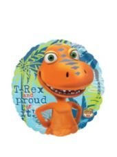 Foil Dinosaur Train Balloon 18in - Party City