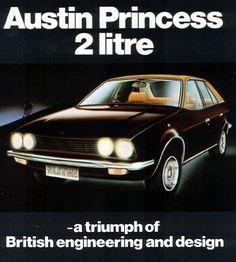 1979 Austin Princess 2 , 2 Litre New Zealand Motor Corporation Advertising. Poster Ads, Car Posters, Retro Cars, Vintage Cars, Great British, British Car, Car Brochure, Old Classic Cars, Classic Motors