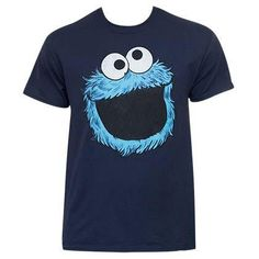 662603e5 Sesame Street Cookie Monster Face Shirt Cookie Monster T Shirt, Monster Face,  Onesies,