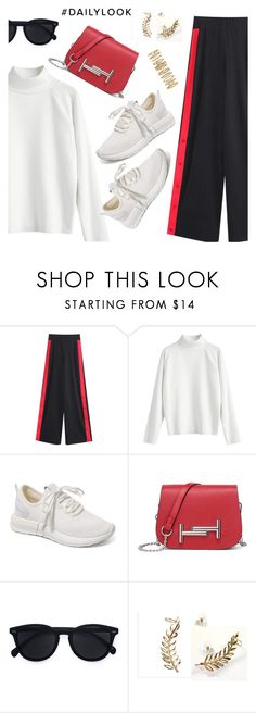 """""""Daily Look"""" by dressedbyrose ❤ liked on Polyvore featuring Le Specs, Forever 21, ootd, Dailylook, polyvoreeditorial and gamiss"""