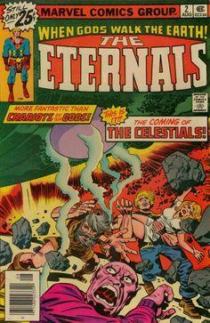 Une saga complète : Eternals / Deviants / Celestials - Buzz Comics, le forum comics qui garde la frite !!!