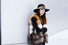 Punto fur vest #fur #ladyfur
