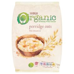 #TescoOrganic! Porridge Oats.