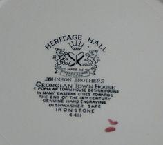 art deco vintage cake plate w/ handles, antique hand-painted ...