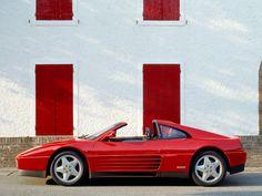 Ferrari 348 TS '1989–93 Ferrari 348, Automobile, Bmw, Cars, Spider, Modern, Exotic, Motorcycles, Autos