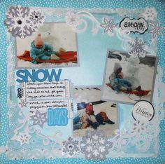 Snow days - Scrapbook.com