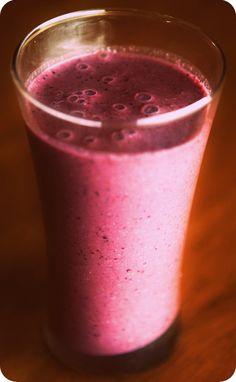 Blackberry Chia Maca Smoothie!  2 C Blackberries  2 C Coconut Milk  1 T Chia Seeds - hydrated  1 tea Maca Powder