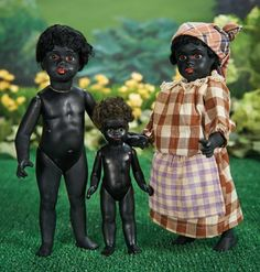 Large German Black-Complexioned All-Bisque Doll by Gebruder Kuhnlenz 900/1300 Auctions Online | Proxibid
