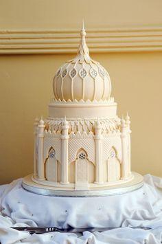 brighton royal pavilion wedding cake