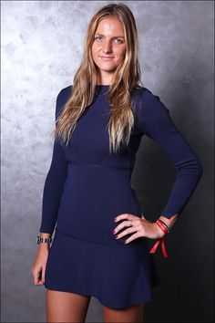 Flavia Pennetta, Caroline Wozniacki, Ana Ivanovic - the stars of the WTA shone brightly at the China Open player party this week. What did your favorite player wear? Professional Tennis Players, Tennis Players Female, Tennis Stars, Good Looking Women, Sporty Girls, Photos Of Women, Sports Women, Celebs, Glamour