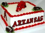 Arkansas Razorbacks groom's cake
