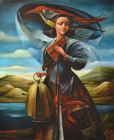 """The Hunter of Birds"" by Boris Shapiro (Lvov, Ukrain 1968)"