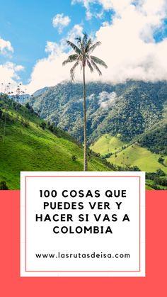 Tienes que leer esta lista si VIVES EN COLOMBIA o si tienes planeado VIAJAR A COLOMBIA para que no te pierdas de los mejores planes para hacer en este fascinante país. Koh Tao, Latina, Popular, Blog, Drink, Cairo, Travel Agency, South America, Most Popular