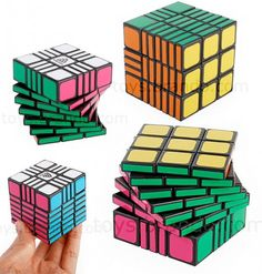 Don't Call It A Rubik's Cube, But This Rubik's Cube Will Kick Your Ass   OhGizmo!