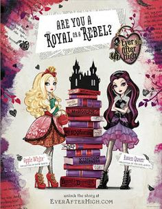 Monster High's Own Spin Off Series Ever After High | Natalie's World