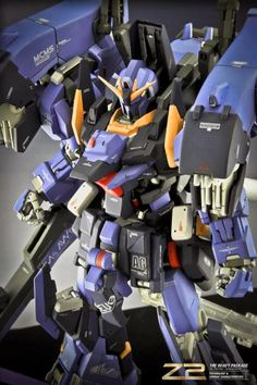 GUNDAM GUY: 1/100 Z2 The Heavy Package - Custom Build