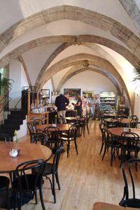 church coffee shop   (vaults & garden cafe, oxford)