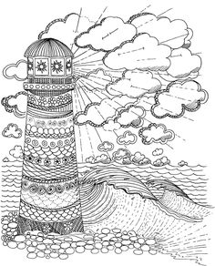Lighthouse Coloring Pages ready for download or print Description
