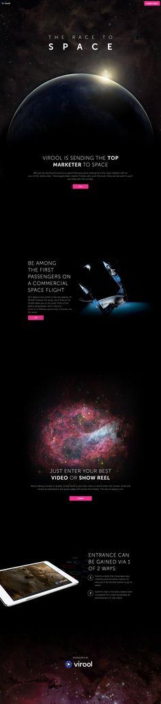 Unique Web Design, Virool #WebDesign #Design (http://www.pinterest.com/aldenchong/)