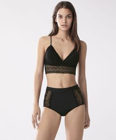 Check out the latest arrivals in women's lingerie at OYSHO online. Try our new underwear or lingerie sets. Spring Summer 2020 trends with just one click! Belle Lingerie, Designer Lingerie, Pretty Lingerie, Luxury Lingerie, Beautiful Lingerie, Lingerie Set, Women Lingerie, Ropa Interior Calvin, Look Fashion