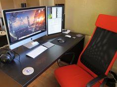 Modern Workspace  :: iMac - Dual Display iMac Setup