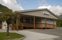 Exterior of Sitka Community #Hospital, Project Location: Sitka, Alaska  Total Square Footage: 3,640 sq. ft. #modularbuilding