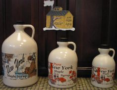 Quart of Maple Syrup Made in USA by Kirsch Family Farms