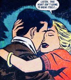 Retro vintage pop art comic book illustration