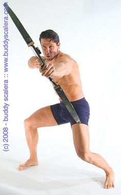 Muscle Man with Cross Bow Action | Flickr - Photo Sharing!