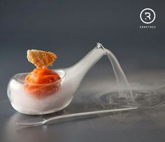 Una obra gastronómica tiene pocos segundos entre los ojos y el paladar.#Arte #Diseño #Gastronomía