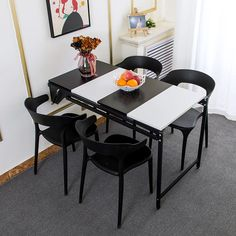 4 Chair Dining Table, Cheap Dining Tables, Foldable Dining Table, Rectangle Dining Table, Dining Room Furniture, Home Furniture, Storage Mirror, Quality Furniture, Bookshelves