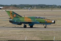 176 Romanian Air Force Mikoyan-Gurevich Mig-21UM taken 2013-08-03 at Kecskemet (LHKE) airport, Hungary by András Soós