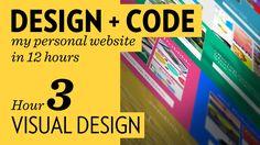 Design + Code – Hour 3: Visual Design