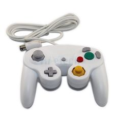 New Wired Controller Game Pad for Ninetndo Gamecube GC WII White US 8 bucks