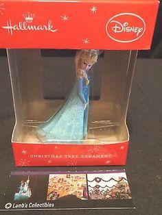 Disney Frozen Queen Elsa Christmas Ornament 2014 - Ice Queen By Hallmark