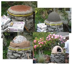 diy outdoor earthen oven