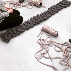 Plump and Co Knitting Workshop. Using needles and learning about casting on, casting off, how wool is made in a two hour workshop. Extreme Knitting, Crochet Necklace, Workshop, Bedroom, How To Make, Crafts, Life, Jewelry, Atelier