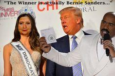 """""""The Winner is Actually Bernie Sanders..."""""""