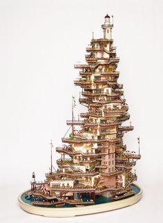 TAKANORI AIBA: Sculpture by Takanori Aiba, via Flickr