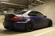 E46 M3 | Volk Racing TE37 SL Black Edition