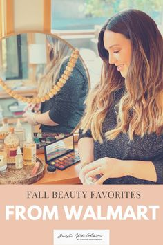 I love that Walmart has curbside pickup and delivery on most items. Rather than venturing in-store yourself or clicking through countless product pages, I have rounded up some of my absolute favorite Walmart beauty products to use this fall! Beauty Hacks, Walmart, Fall, Style, Autumn, Swag, Stylus, At Walmart, Beauty Tricks