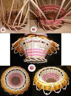 die 58 besten bilder von peddigrohr basket weaving basket weave braid und hampers. Black Bedroom Furniture Sets. Home Design Ideas