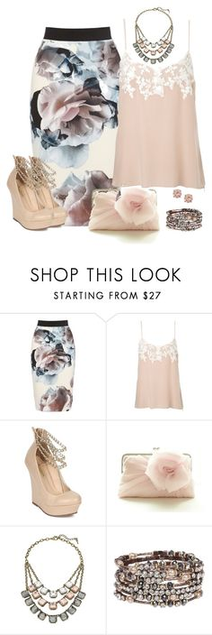 """""""All About The Skirt..."""" by mares-80 ❤ liked on Polyvore featuring Jigsaw, Liliana and Chloe + Isabel"""