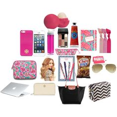 """""""whats in my carry-on bag?"""" by preplillypulitzer on Polyvore"""