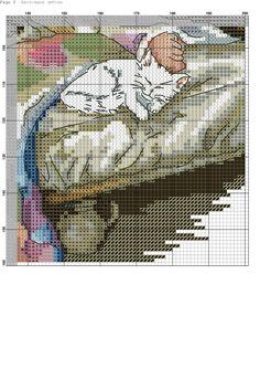 Photo Counted Cross Stitch Patterns, Cross Stitch Charts, Cross Stitch Designs, Cross Stitch Embroidery, Embroidery Patterns, 123 Stitch, Sewing Stitches, Cross Stitch Animals, Ribbon Work