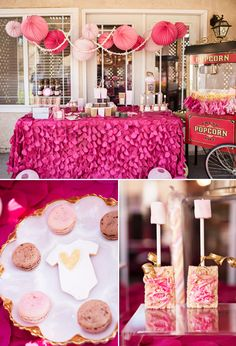 """Ready to POP """"Baby Couture"""" Baby Shower // Hostess with the Mostess® Shower Party, Baby Shower Parties, Baby Shower Themes, Baby Shower Decorations, Shower Ideas, Shower Favors, Shower Bebe, Baby Boy Shower, Comida Para Baby Shower"""