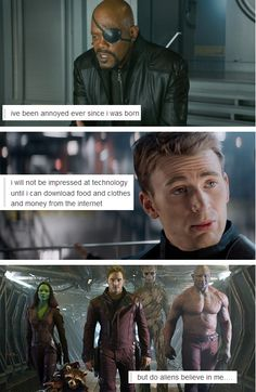 Marvel + text posts