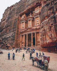 Petra, Jordan. Photo by /kerimayar/