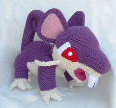 Pokédex # 019 Rattata #pokemon #amigurumi