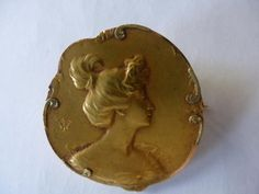 #Brooch in #gold. 1900. For sale on #Proantic by Christophe Barbe Antiquités.